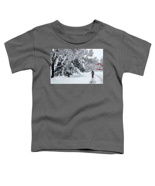 Winter Trekking-3 Toddler T-Shirt