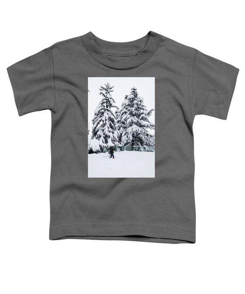 Winter Trekking Toddler T-Shirt