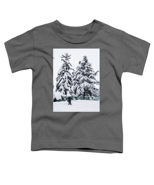 Winter Trekking Toddler T-Shirt