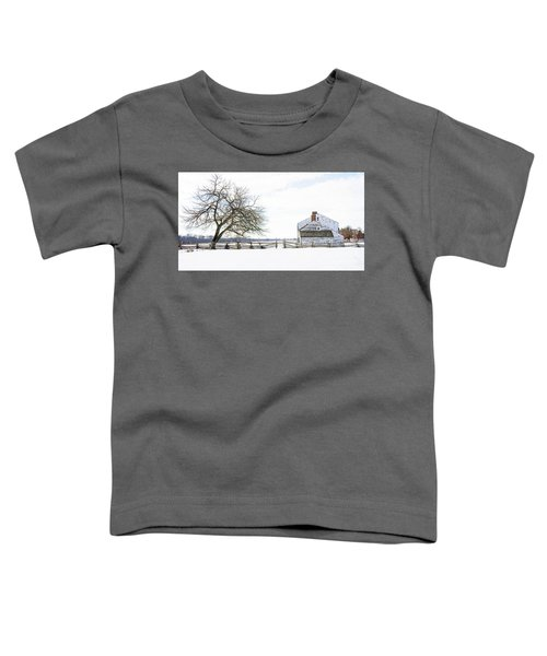Winter White Out Toddler T-Shirt