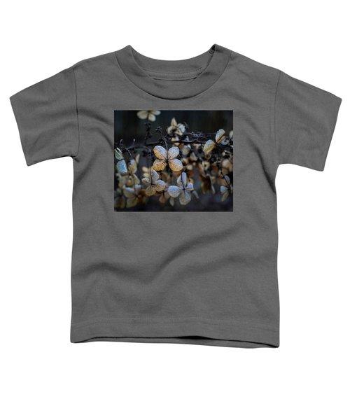 Winterized Hydrangea Toddler T-Shirt
