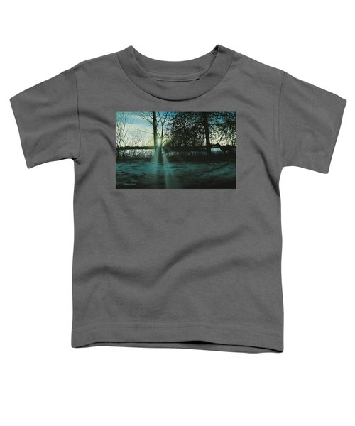 Winter's Evening Scout Toddler T-Shirt
