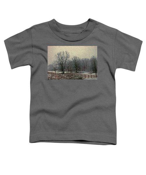 Winter's First Snowfall Toddler T-Shirt