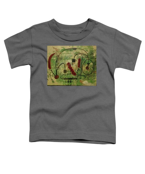 Wired Composition Enigma Toddler T-Shirt