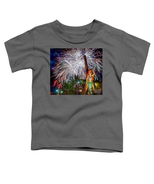 Wishes Over Prince Eric's Castle Toddler T-Shirt