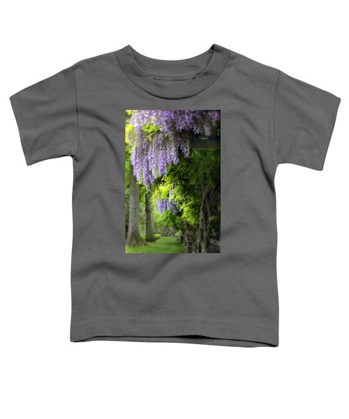 Wisteria Woodland Toddler T-Shirt