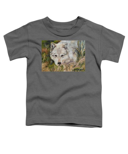Wolf Among Foxtails Toddler T-Shirt
