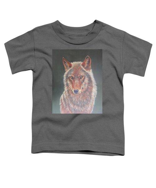 Wolf Portrait Toddler T-Shirt