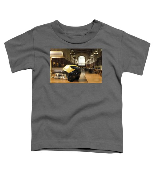 Wolverine Helmet In Law Library Toddler T-Shirt