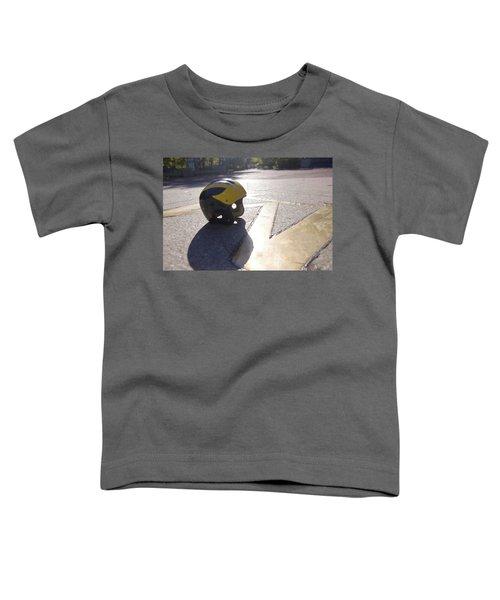 Wolverine Helmet On The Diag Toddler T-Shirt