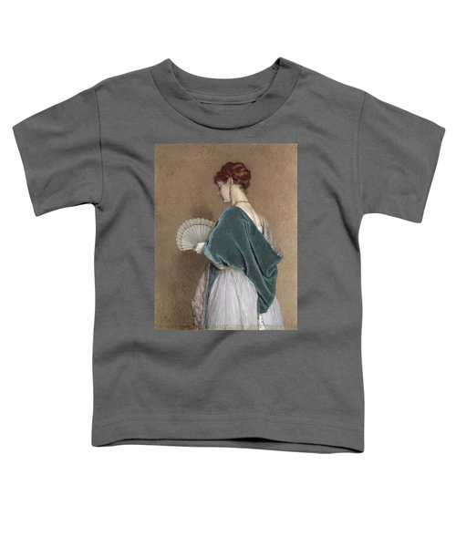 Woman With A Fan Toddler T-Shirt