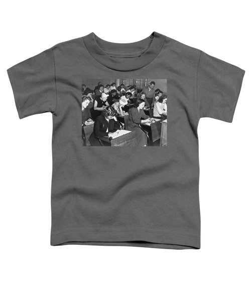 Women Taking Police Exam Toddler T-Shirt