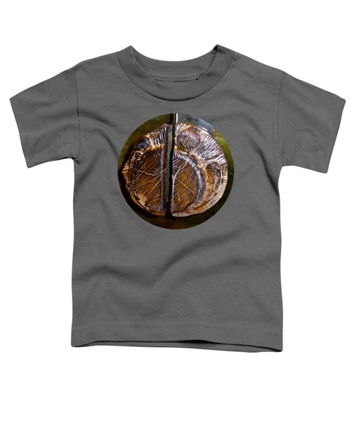 Toddler T-Shirt featuring the photograph Wood Carved Fossil by Francesca Mackenney