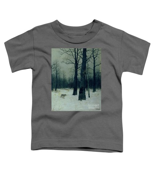 Wood In Winter Toddler T-Shirt