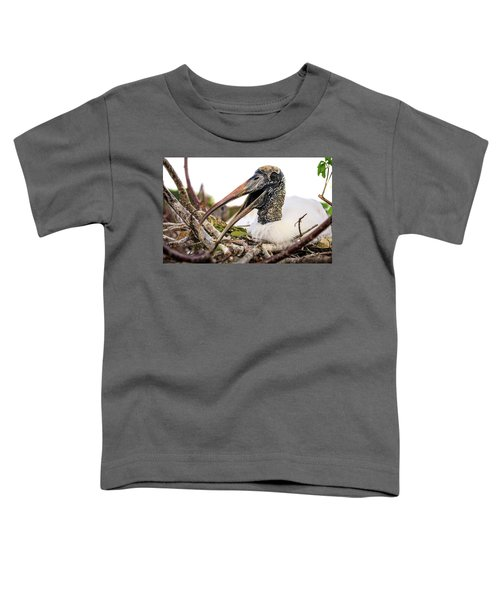 Wood Stork Toddler T-Shirt