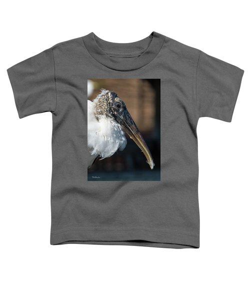 Wood Stork Toddler T-Shirt