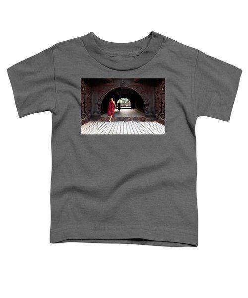 Wooden Monastery Toddler T-Shirt
