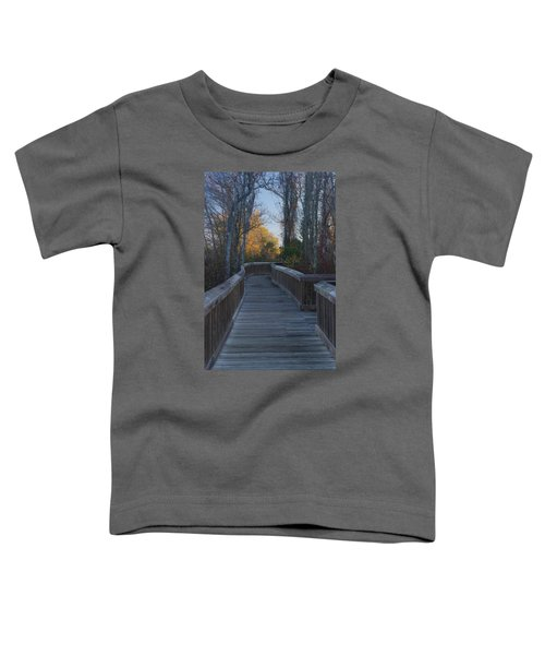 Wooden Path Toddler T-Shirt
