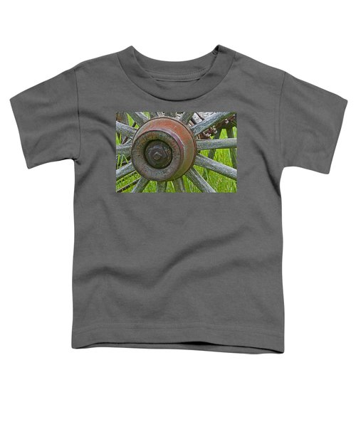 Wooden Spokes Toddler T-Shirt