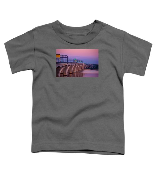 Woodrow Wilson Bridge Toddler T-Shirt