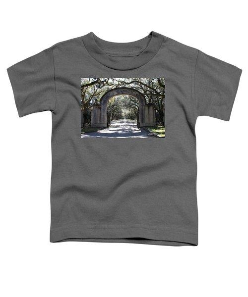 Wormsloe Plantation Gate Toddler T-Shirt