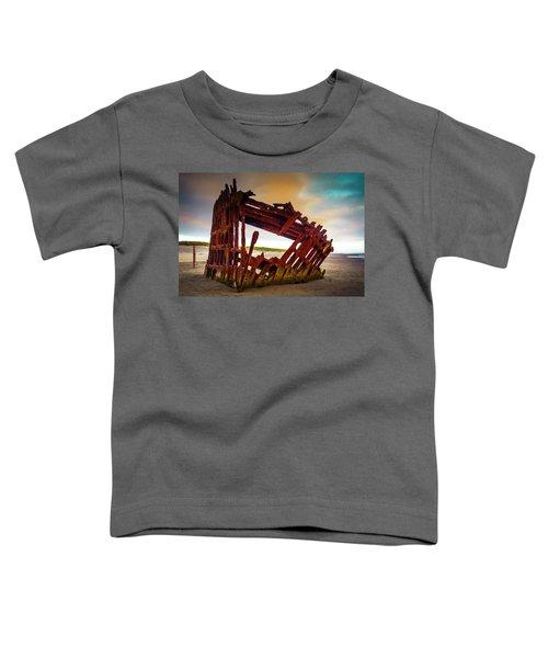 Worn Rusting Shipwreck Toddler T-Shirt