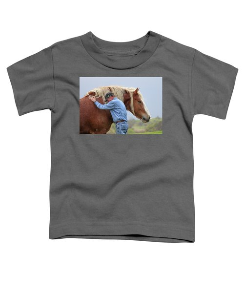 Wrangler Jeans And Belgian Horse Toddler T-Shirt
