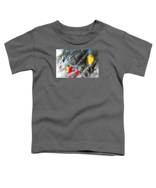 Toddler T-Shirt featuring the photograph Wrap A Tree In Color by Lora Lee Chapman