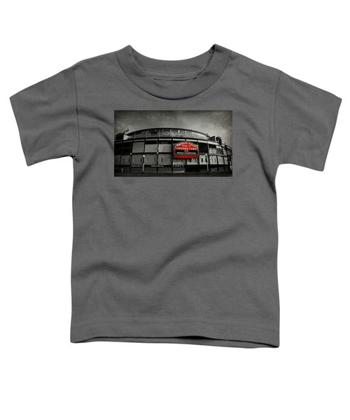 Wrigley Field Toddler T-Shirt by Stephen Stookey