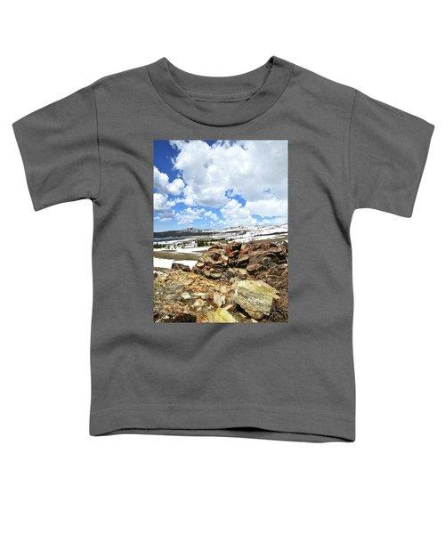 Wyoming's Big Horn Pass Toddler T-Shirt