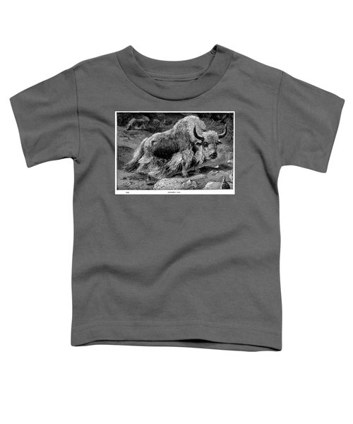 YAK Toddler T-Shirt by Granger
