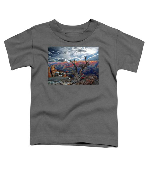 Yaki Point Grand Canyon Toddler T-Shirt