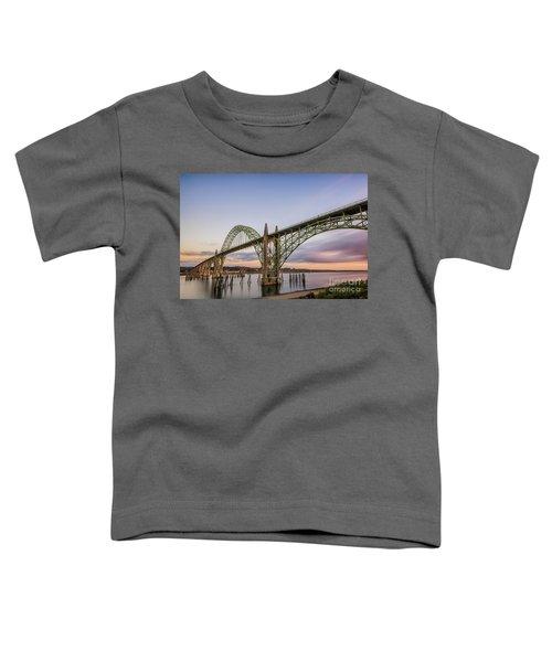 Yaquina Bay Bridge Toddler T-Shirt