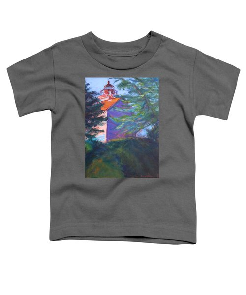 Yaquina Bay Lighthouse  Toddler T-Shirt