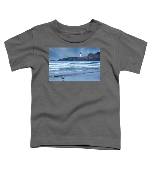 Yaquina Head Lighthouse Toddler T-Shirt