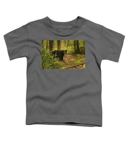 Yearling Black Bear Toddler T-Shirt