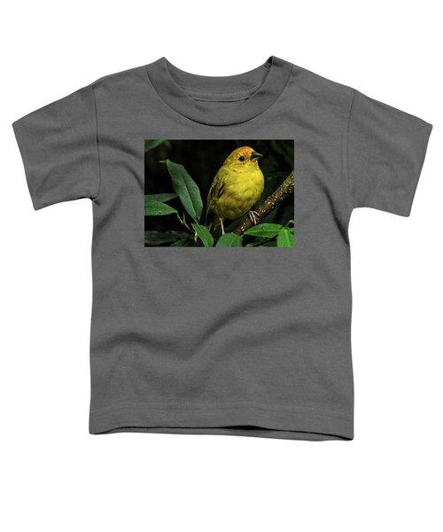 Yellow Bird Toddler T-Shirt