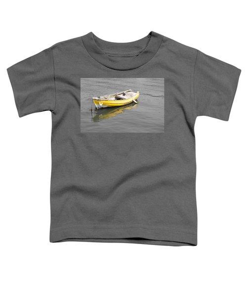 Yellow Boat Toddler T-Shirt
