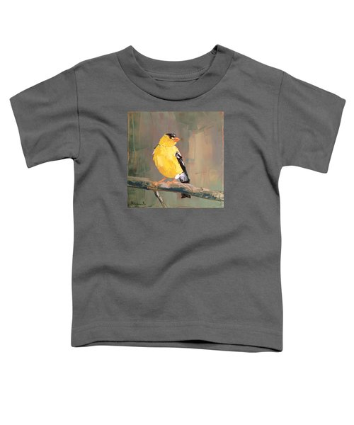 Yellow Finch Toddler T-Shirt
