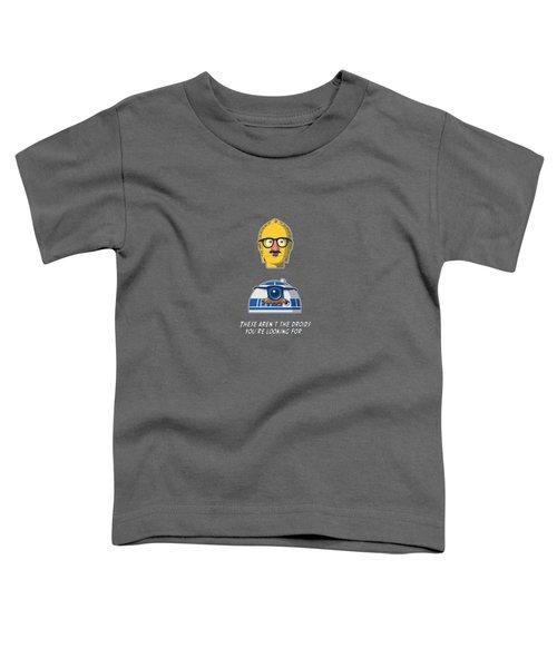 Yellow Head Starwars Toddler T-Shirt by Mentari Surya