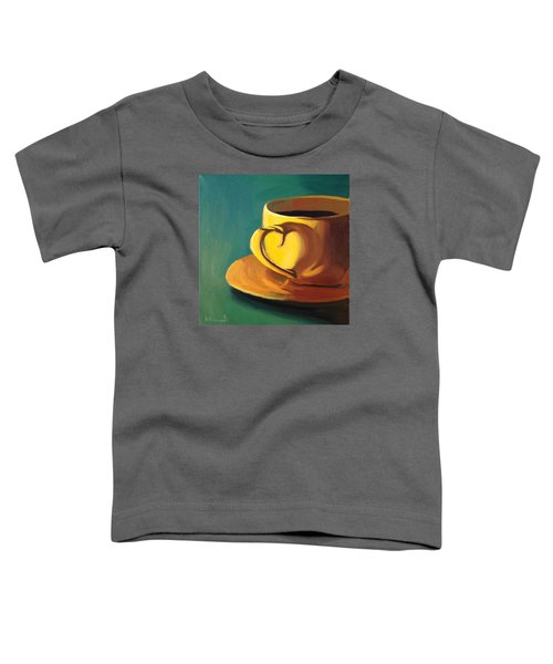 Yellow Java Toddler T-Shirt