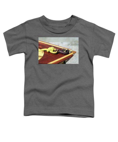 Yellow Line Toddler T-Shirt