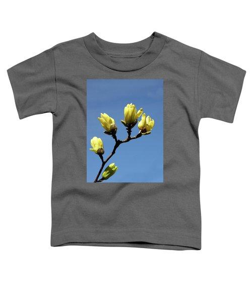 Yellow Magnolia Toddler T-Shirt