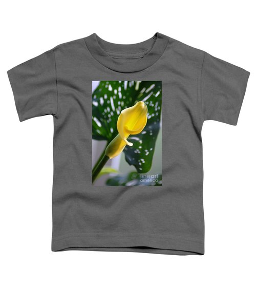 Yellow Mini Calla Lilies Toddler T-Shirt