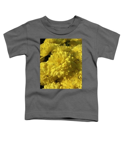 Yellow Mums Toddler T-Shirt