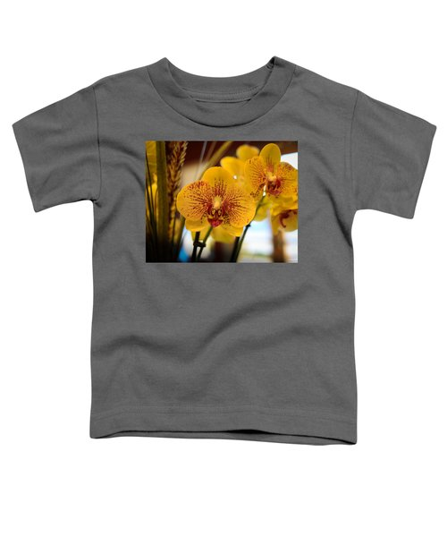Yellow Orchis Toddler T-Shirt