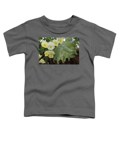 Yellow Pansies Toddler T-Shirt