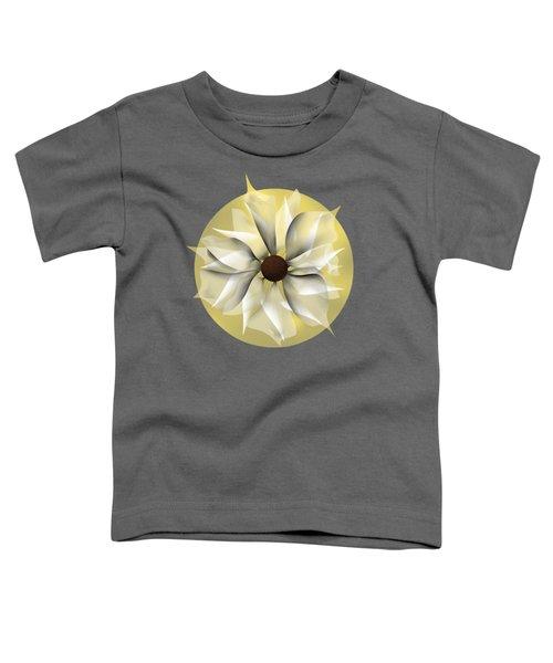 Yellow Soft Flower Toddler T-Shirt