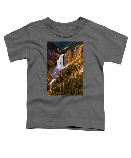 Yellowstone Falls Toddler T-Shirt
