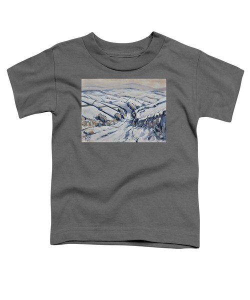 Yorkshire In The Snow Toddler T-Shirt